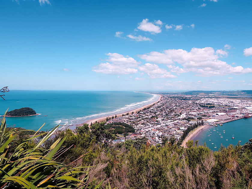 Tauranga is one of New Zealand's sunniest places