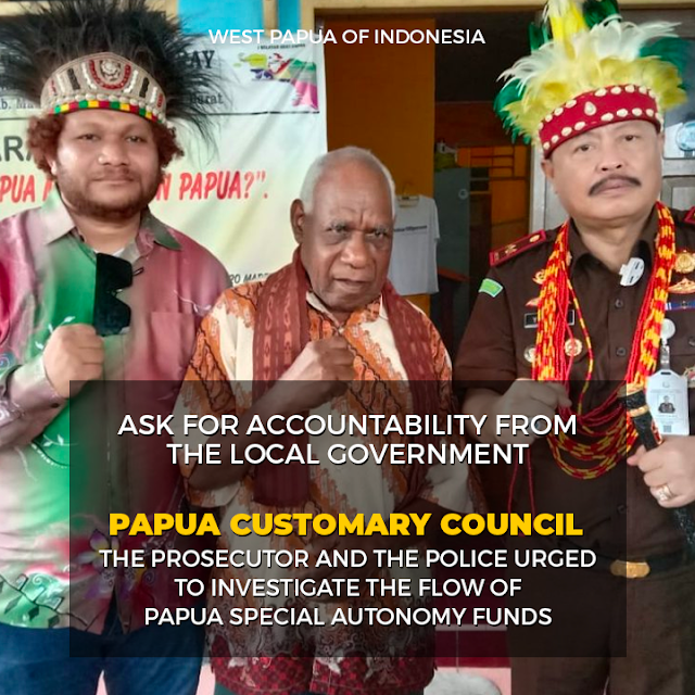 DAP Urges West Papua Prosecutors to Audit the Run of Special Autonomy Funds