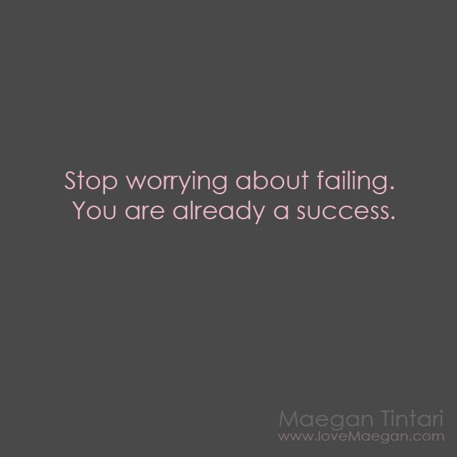 success quote, failing quote, inspirational quote