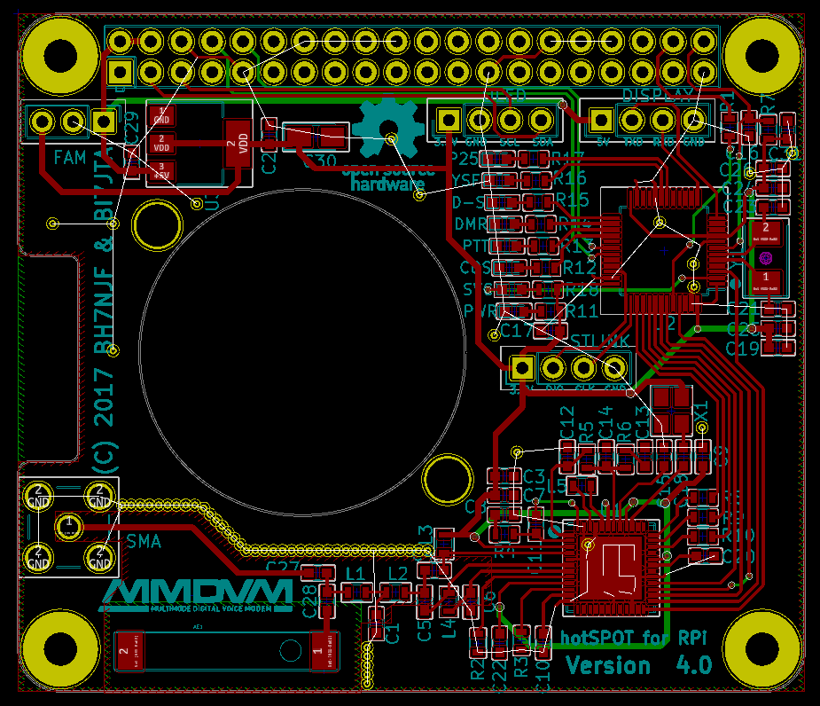 BI7JTA BLOG for MMDVM: User Guide for RPi hotspot with FAN, Simplex