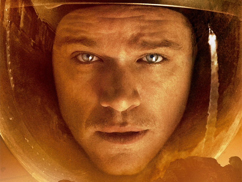 'Marte (The martian)' ya está disponible en Descarga Digital