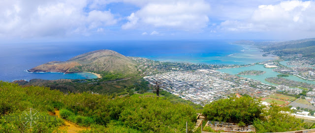 The view from the top of Koko Head on Oahu is totally worth the effort to get there