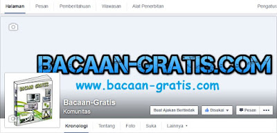 Membuat Halaman Blog di Facebook