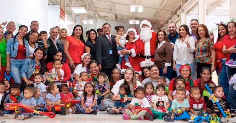 Mujer de Juan Guaidó fue al Maternal Divina Pastora a regalar juguetes a los niños