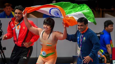 Divya Kakran win gold at Wrestling Grand Prix 2019 of Spain
