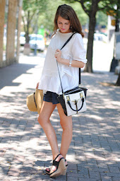 black and white top hand bag