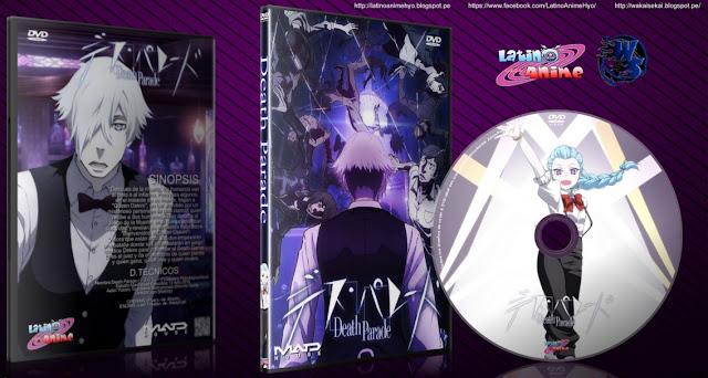 Death Parade | 12/12 + Ova | Cover DVD | MEGA |