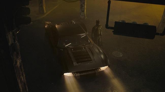 Cena das filmagens de The Batman/Warner Bros/Reprodução