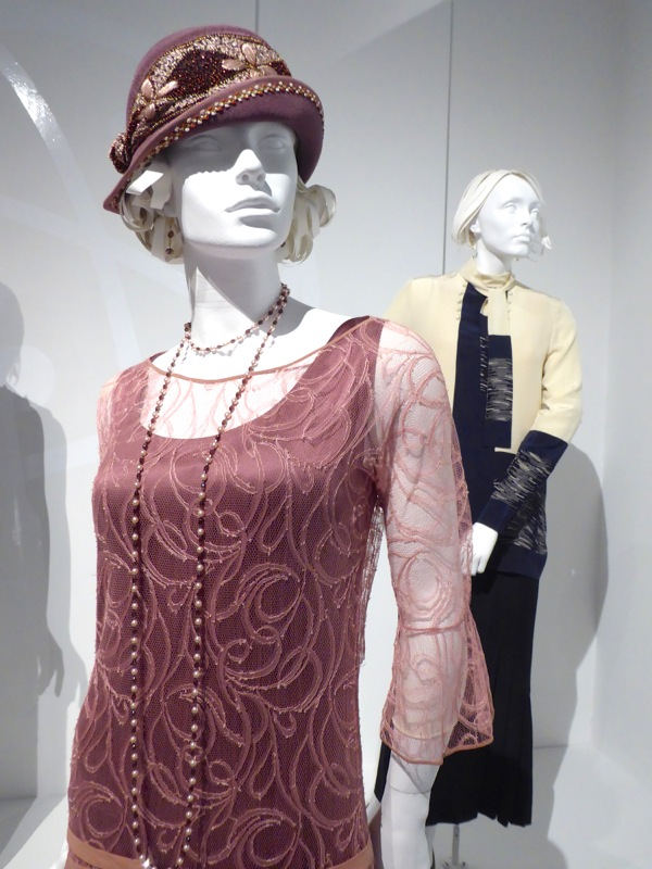 Lily James Downton Abbey Lady Rose costume