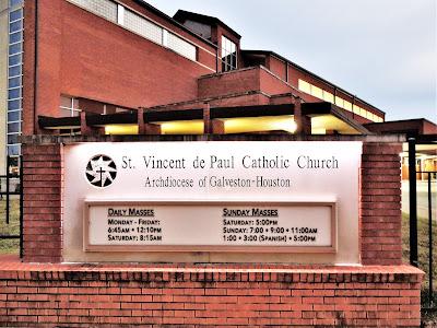Mass Schedule: St. Vincent de Paul Catholic Church