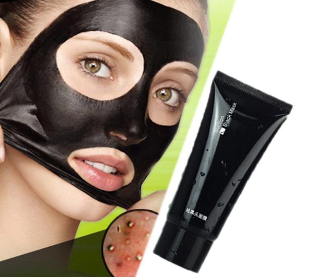 Las máscaras para la persona por medio del carbón activo
