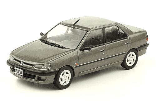 Peugeot 306 XRD 1998 1:43, autos inolvidables argentinos 80 90