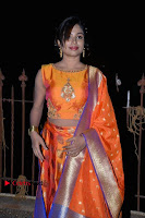 Telugu Actress Vrushali Goswamy Latest Stills in Lehnga Choli at Neelimalay Audio Function  0012.jpg