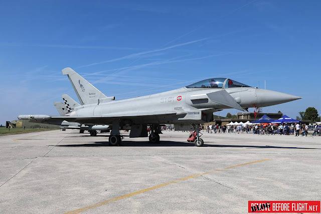 L'Aeronautica Militare svela un Typhoon con le insegne del 51mo Stormo