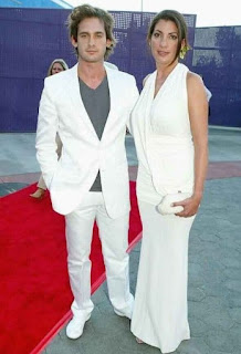 Gaby Jamieson with her husband Will Kemp