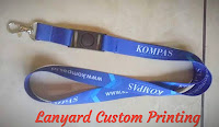Pusat tali lanyard custom di Indonesia