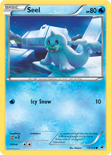 Seel Fates Collide Pokemon Card