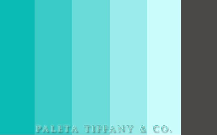 paleta tiffany