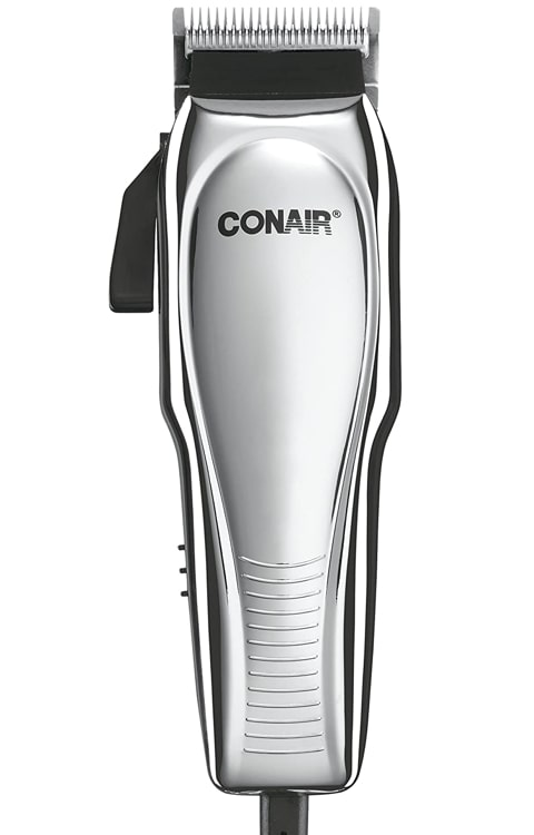Conair 21-Piece Custom Chrome Haircut Kit.