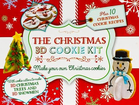 The Christmas 3D Cookie Kit  cover