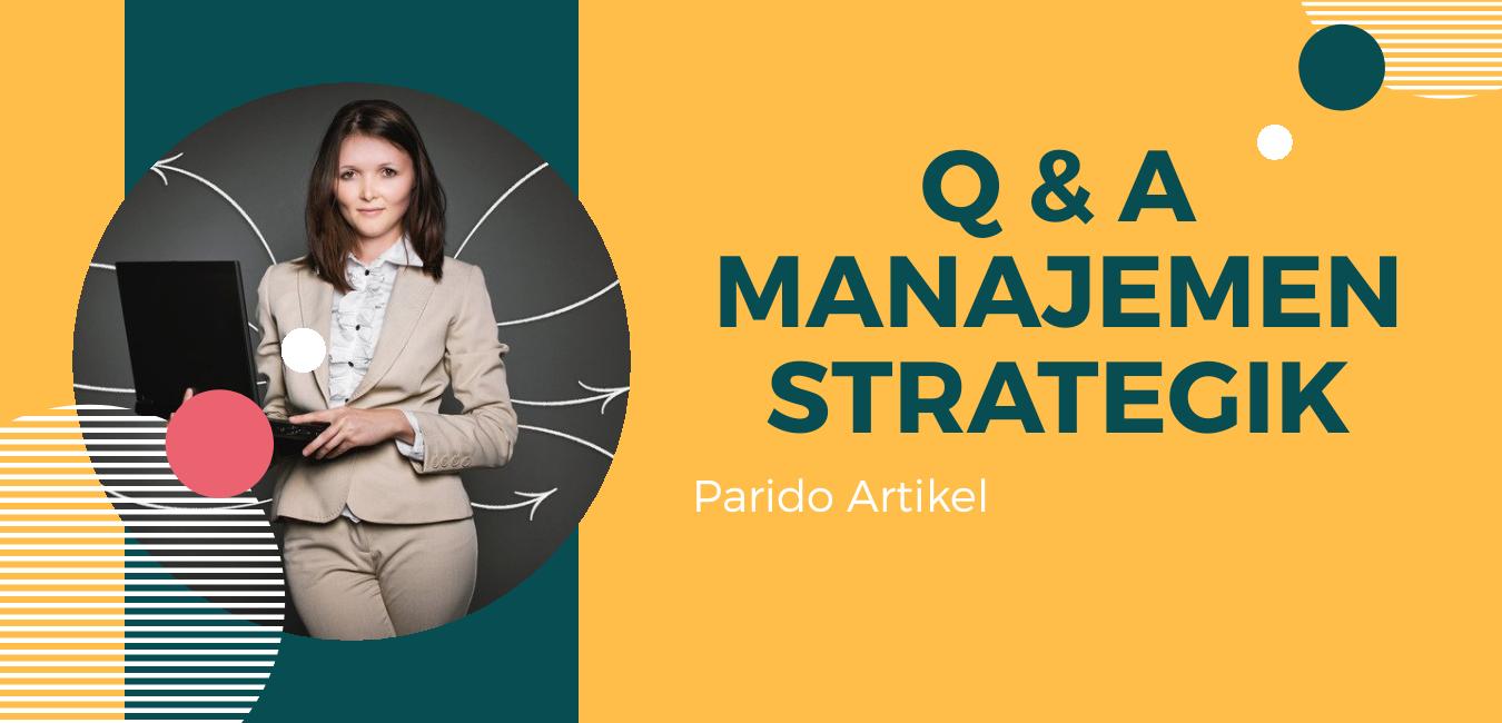 Q&A Manajemen strategik