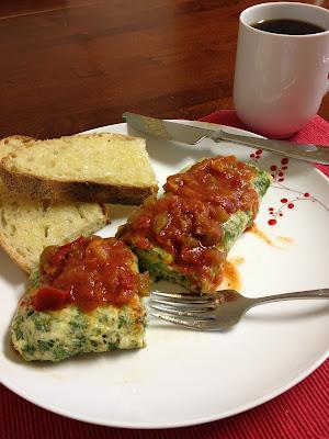 Tomato Bacon Salsa for Eggs