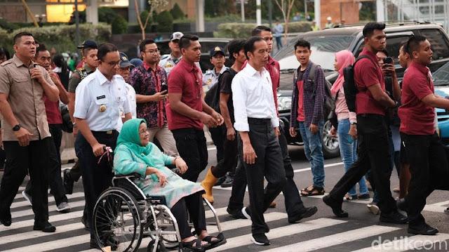 Ketika Jokowi Apresiasi Kinerja Anies