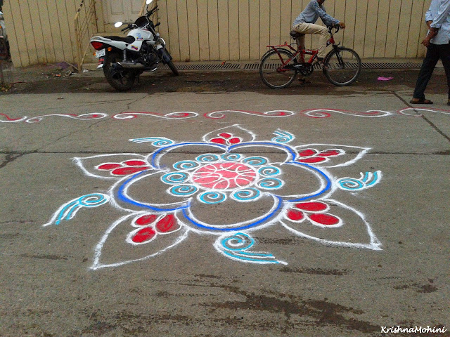 Image: Big beautiful Rangoli