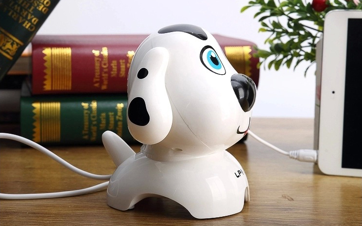 Loa vi tính LP S600 hình cún dễ thương
