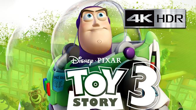Toy Story 3 (2010) REMUX 4K UHD [HDR] Latino-Castellano-Ingles
