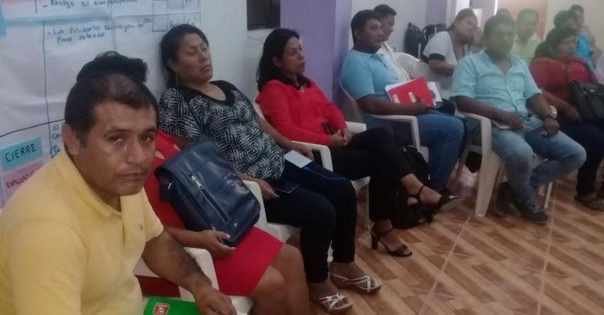 UGEL Atalaya capacita a especialistas y coordinadores de redes educativas en gestion escolar y plataforma de Sí Seve