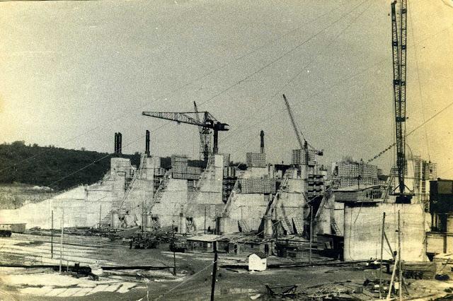 Строительство Дубоссарской ГЭС