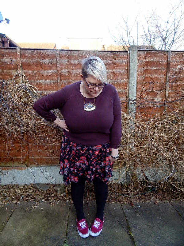 BBW, blonde girl, size 20, fat girl, fatshion, asos curve, smock dress