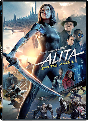 Alita Battle Angel [2019] [DVD R1] [Latino]