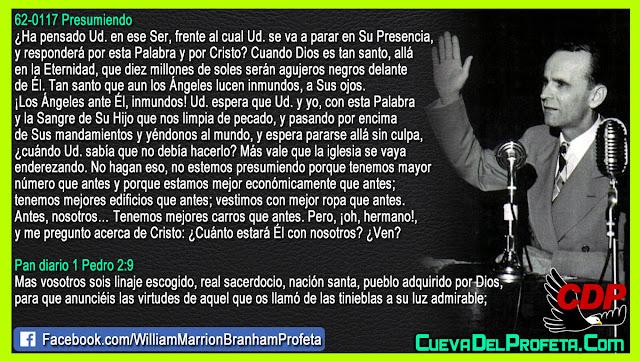 Usted sabía que no debía hacerlo - William Branham en Español