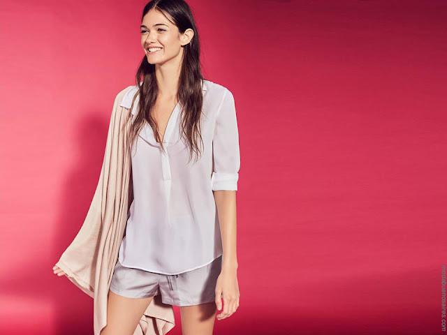 Blusas de moda mujer primavera verano 2018. Moda mujer primavera verano 2018.