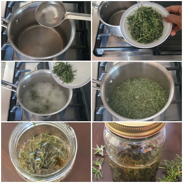 images of Homemade Rosemary Oil / How To Make Rosemary Oil At Home?