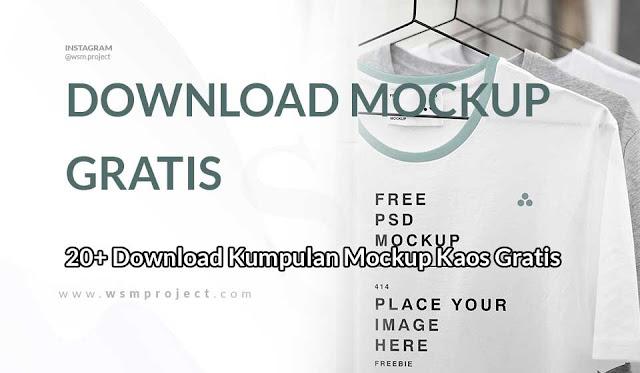 download mockup kaos