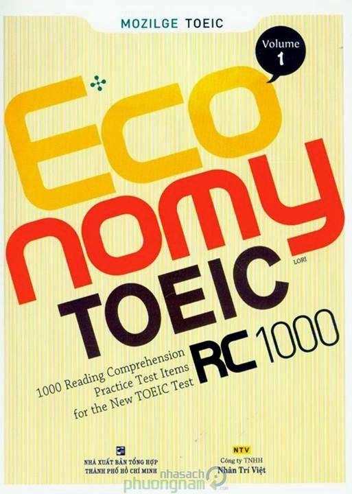 Trọn bộ Economy TOEIC Vol 1 2 3 4 5 PDF Full Audio + Giải chi tiết
