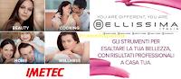 Logo Imetec e Bellissima: il Top dell'innovazione per la bellezza, la casa e la cucina con sconti fino al 60%