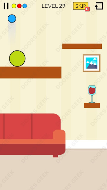 Spill It! Level 29 Walkthrough, Solution, Cheats for Android, iPhone, iPad and iPod