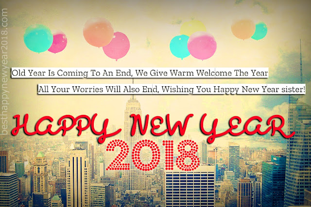 2018 New Year Sister Quotes