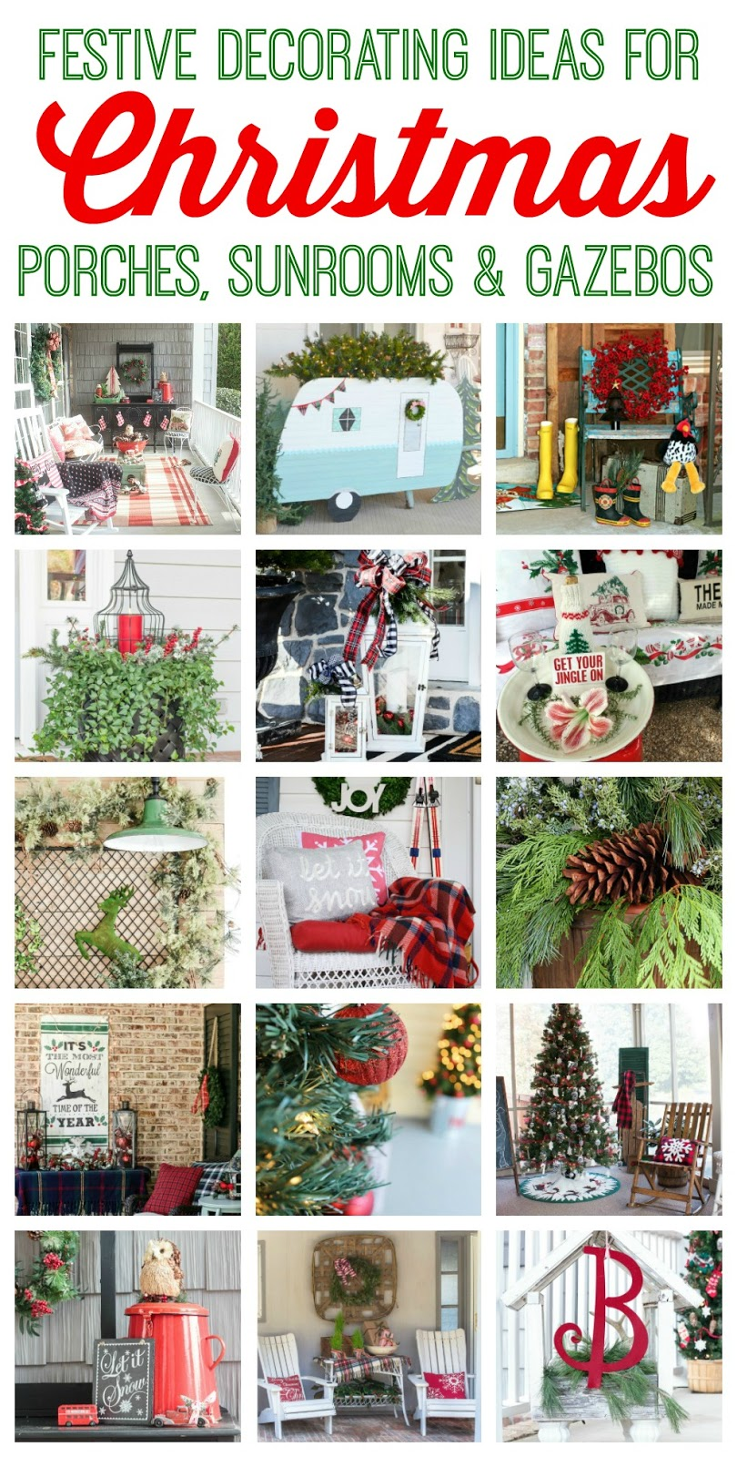 Front Porch Decorating Ideas With The Perfect Adirondack Chairs Our House Now A Home: Cozy Christmas Front Porch