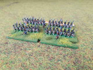 6mm Baccus figures for the Waterloo Campaign