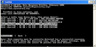 Download TestDisk & PhotoRec 7.0 (18 April 2015), Data Recovery