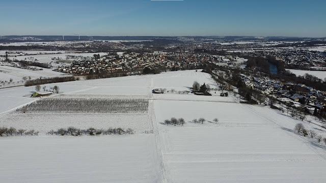 DJI Drohnenflug in Nürtingen - Zizishausen