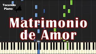 matrimonio de amor richard clayderman piano tutorial
