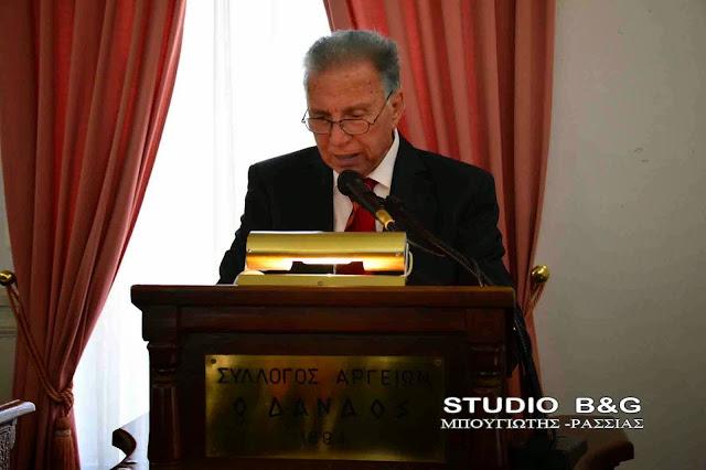 Ψήφισμα του Δ.Σ. Άργους Μυκηνών και μήνυμα του Δημάρχου Δημήτρη Καμπόσου για το θάνατο του Δημήτρη Παπανικολάου