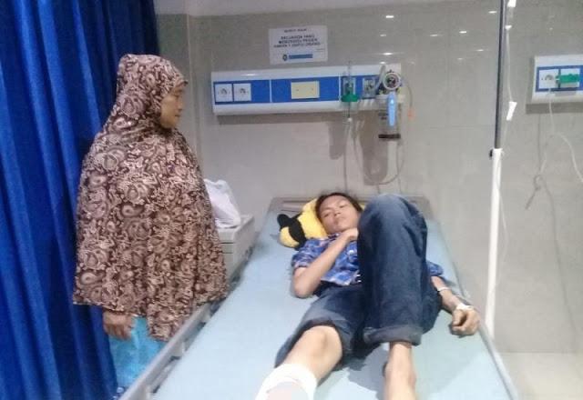 Korlap Aksi Demo HMI Bengkulu Diduga Tertembak, Kabid Humas: Itu Hanya Luka Robek