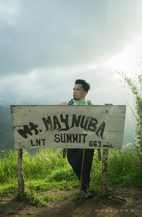 The author at the summit